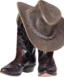 Hat - $35 Leather boots - starting repair