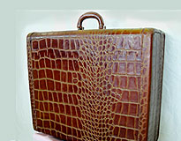 Leather Alligator Suitcase repair rate