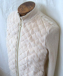 Sweater with Fur Combination repair rate