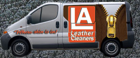 LA Leather Cleaners' free pickup